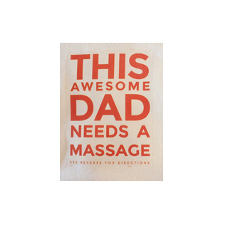 This Awesome Dad Needs A Massage